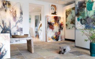 Rie Brødsgaards atelier
