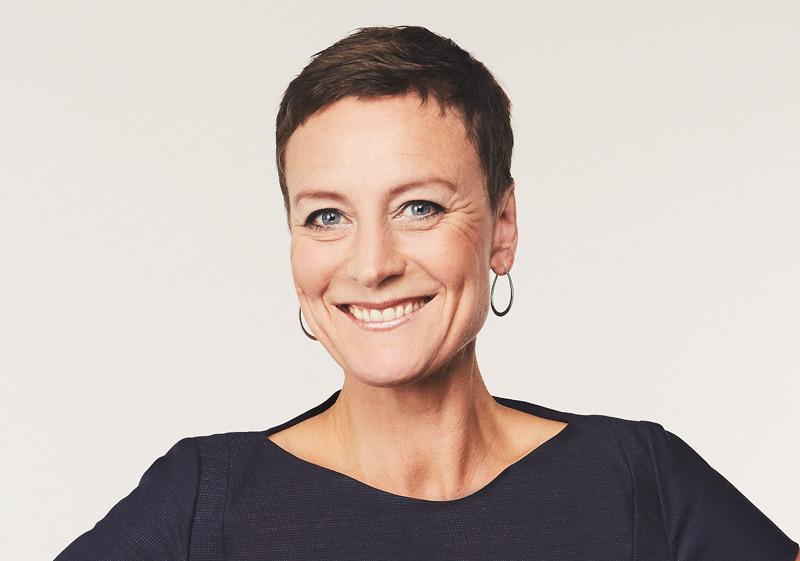 TV journalist Janni Pedersen forsideartikel foto